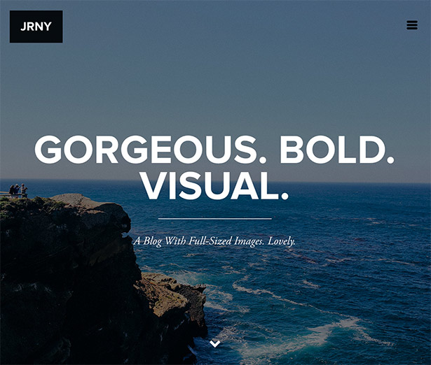 JRNY: A Gorgeous & Responsive WordPress Blog Theme - 8