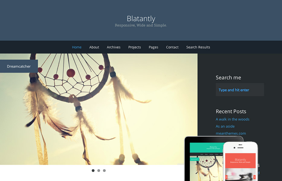 Blatantly – A Versatile Theme