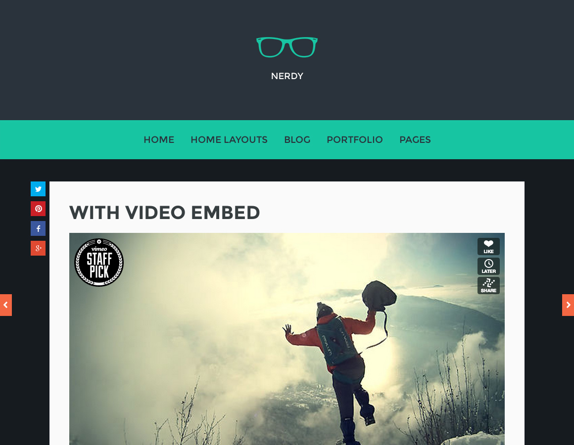 Nerdy for WordPress