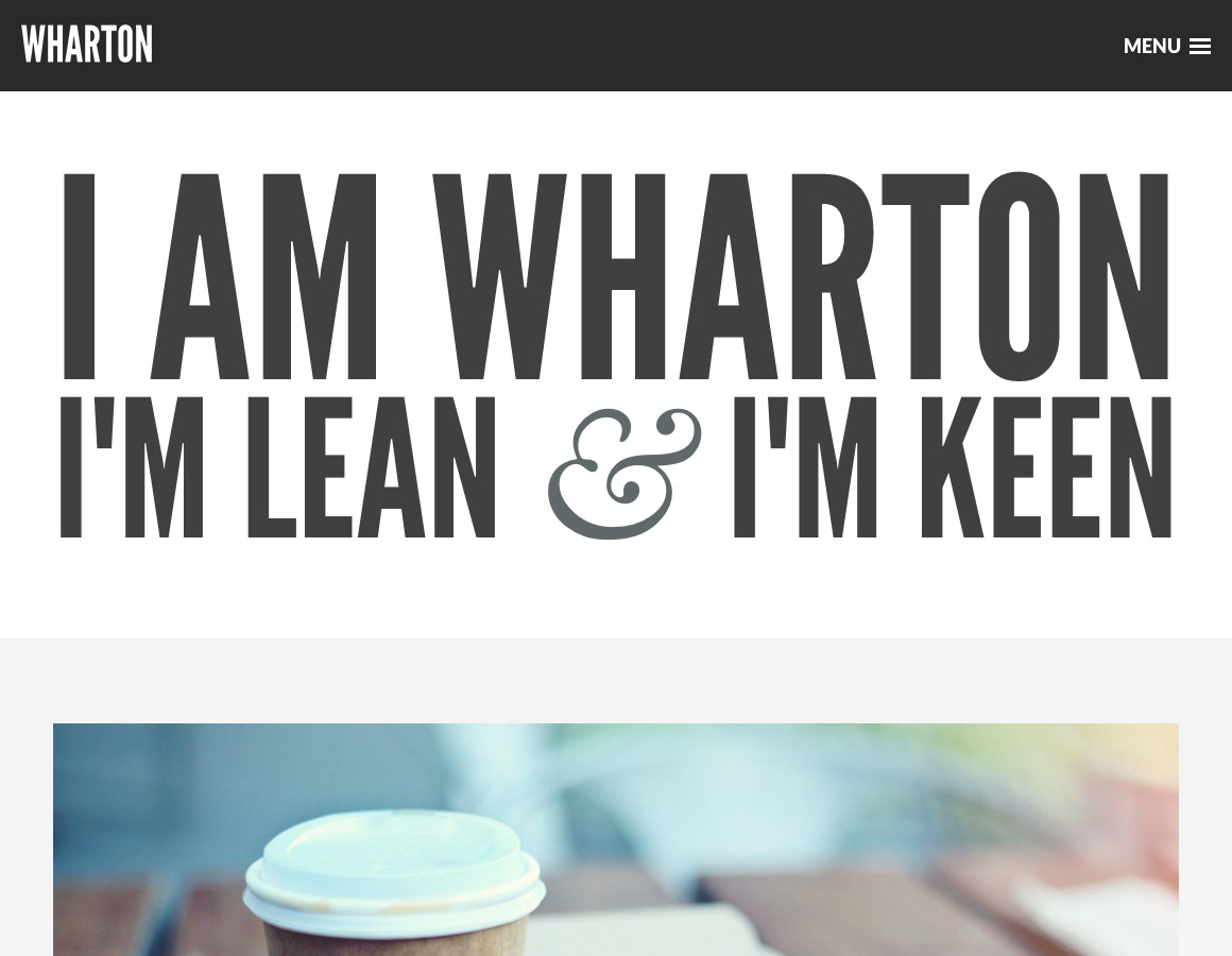 New Blog Theme: Wharton