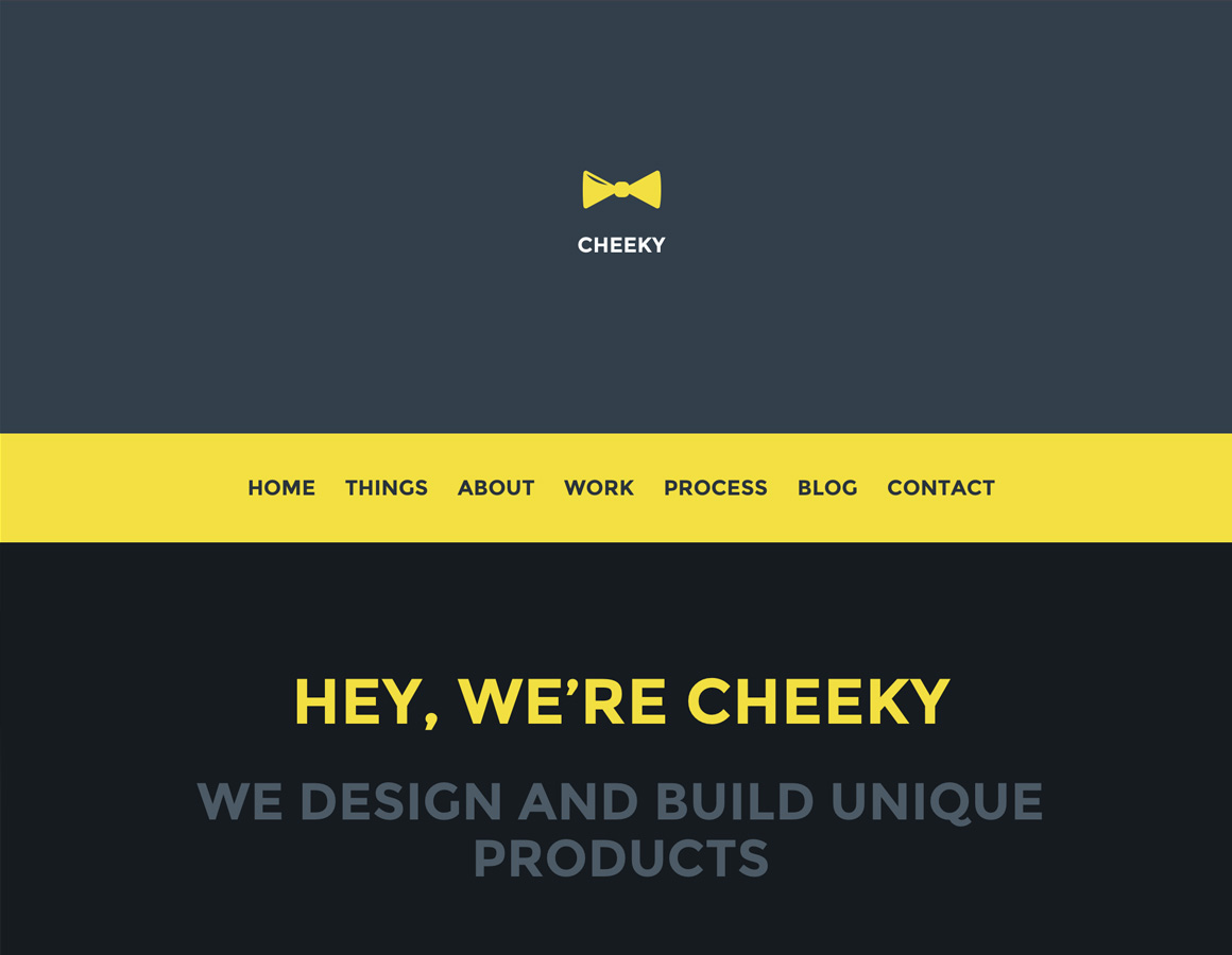 New Theme! Cheeky for WordPress
