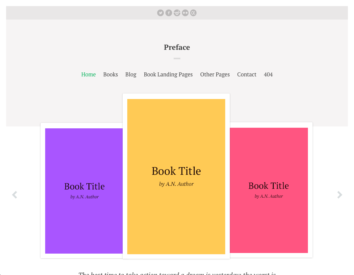 New Theme! Preface for WordPress