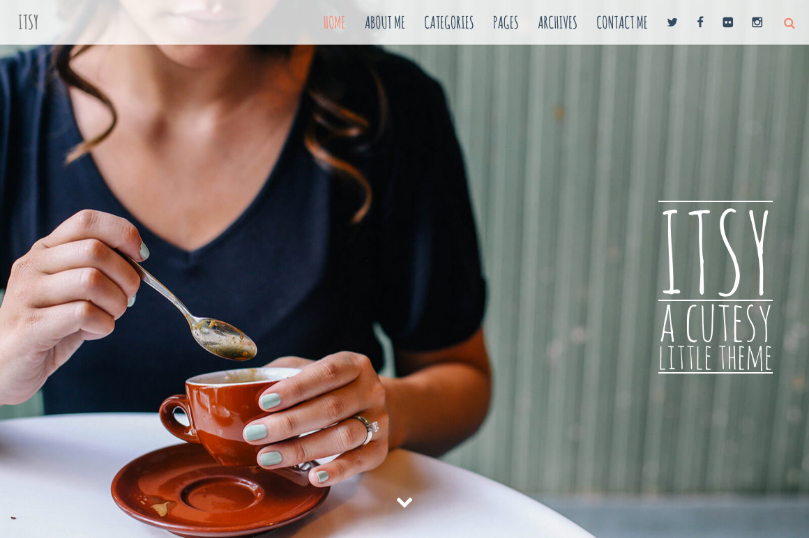 Meet Itsy: A Cutesy Little WordPress Theme